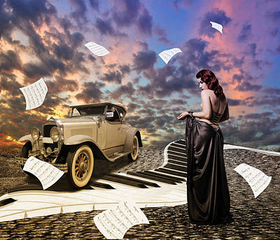 The Muse Of Music Art Print