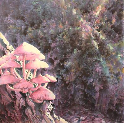 The Mushrooms Life Print by Saadon Bin Saad