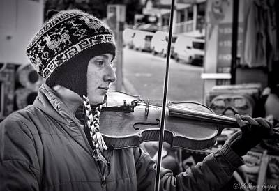 Photograph - The Music Maker by Wallaroo Images
