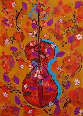 The Music Of Nature Art Print