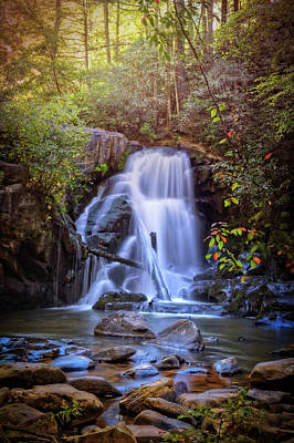 Photograph - The Music Of Waterfalls by Debra and Dave Vanderlaan