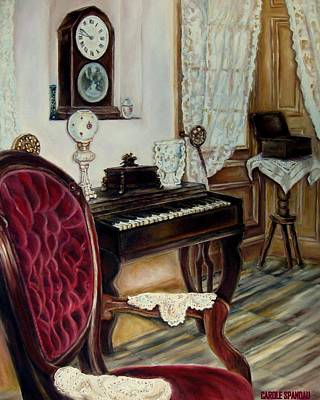 Painting - The Music Room by Carole Spandau