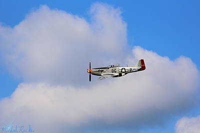 Photograph - The Mustang P-51c by Michael Rucker