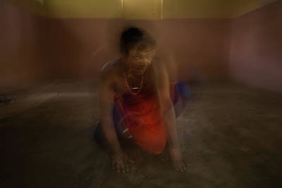 Luth Photograph - The Mutation Of The Dancer by Lucas Dragone