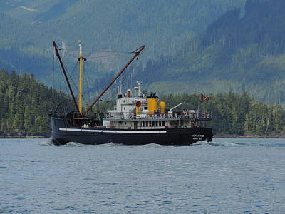 Photograph - The Mv Uchuck #14 by Nootka Sound
