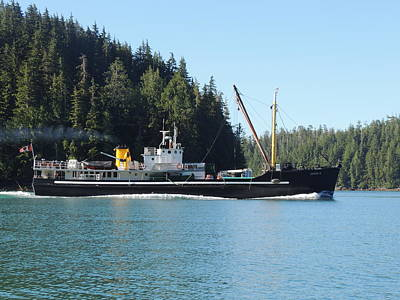 Photograph - The Mv Uchuck #16 by Nootka Sound