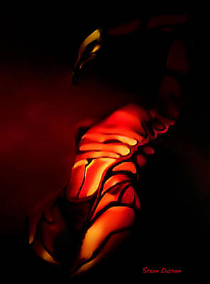 The Mysterious Scorpio Art Print