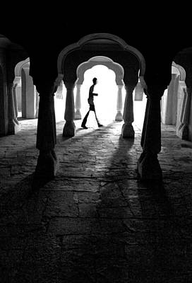 The Mystery Man Art Print by Prakash Ghai