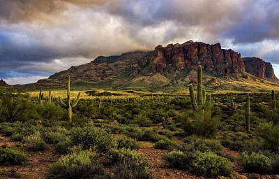 Photograph - The Mystical Beauty Of The Superstitions  by Saija Lehtonen