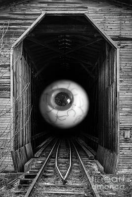 Photograph - The Mystical Eye Sees All And Knows All by Edward Fielding