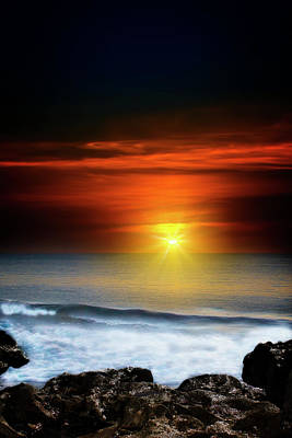 Mark Andrew Thomas Royalty-Free and Rights-Managed Images - The Mystics Sunrise by Mark Andrew Thomas