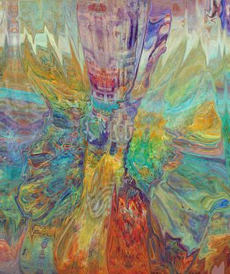 Digital Art - The Narrow Gate 2 by Kate Word