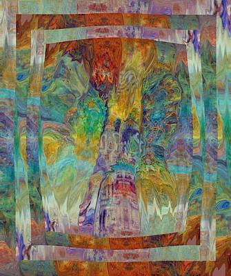 Digital Art - The Narrow Gate 3 by Kate Word