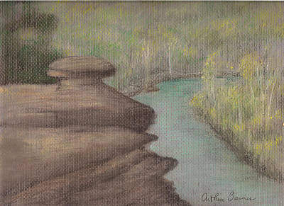 Tennessee River Painting - The Narrows by Arthur Barnes