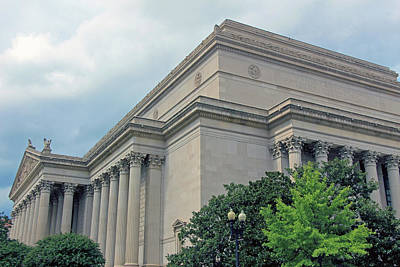 Photograph - The National Archives Of The United States by Cora Wandel