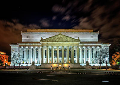 Photograph - The National Archives by Ryan Wyckoff