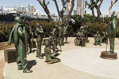 Photograph - The National Salute To Bob Hope And The Military by Hany J