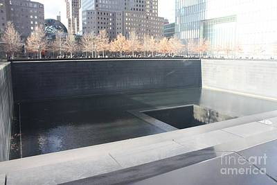 Photograph - The National September 11 Memorial by John Telfer