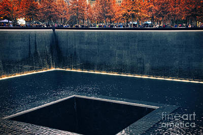 11 Memorial Photograph - The National September 11 Memorial by Mary Machare