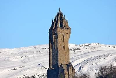 Photograph - The National Wallace Monument by RKAB Works