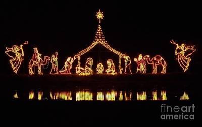 Photograph - The Nativity by D Hackett