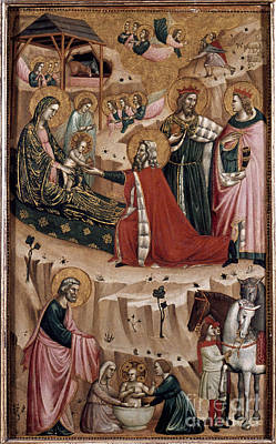 Photograph - The Nativity by Granger