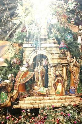 Photograph - The Nativity by Jenny Revitz Soper