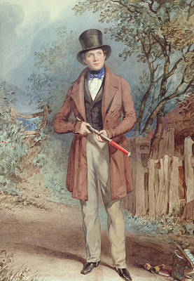 Lord Drawing - The Naturalist by Frederick Joseph Butler Lines