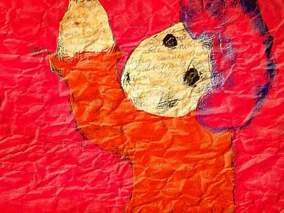 The Naughty Child Art Print by Rc Rcd