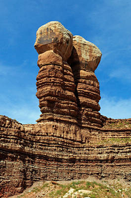 Photograph - The Navajo Twin Rocks by Tikvah's Hope
