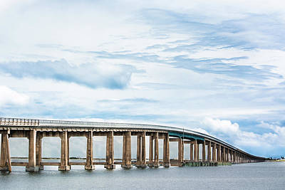Navarre Beach Photograph - The Navarre Bridge by Shelby Young