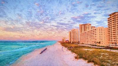 Photograph - The Navarre Skyline by JC Findley