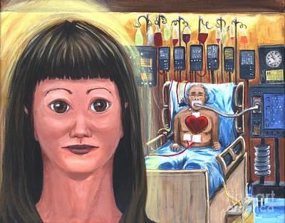 Painting - The Navigator Thru Icu by Gail Finn