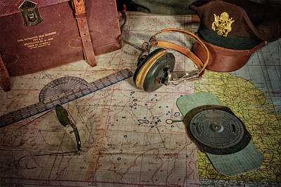Photograph - The Navigator's Desk by Ken Smith