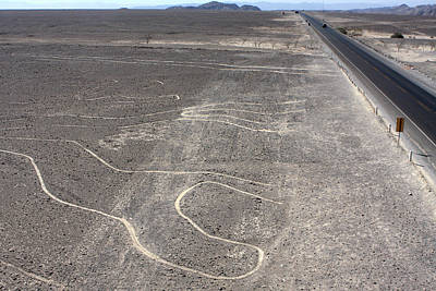 Photograph - The Nazca Lines by Aidan Moran