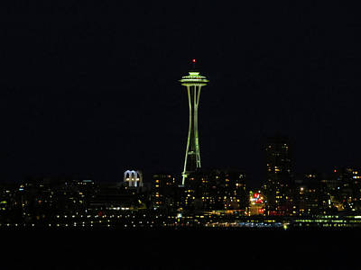 Photograph - The Needle At Night by Jacqueline  DiAnne Wasson