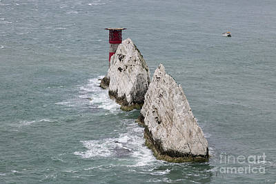 Photograph - The Needles In Isle Of Wight by Julia Gavin