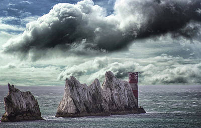 Summer Isles Photograph - The Needles Isle Of Wight by Martin Newman