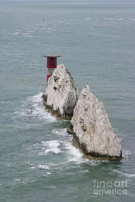 Photograph - The Needles Isle Of Wight Uk by Julia Gavin