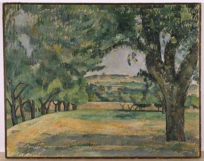 Painting - The Neigborhood Of Jas De Bouffan by Paul Cezanne