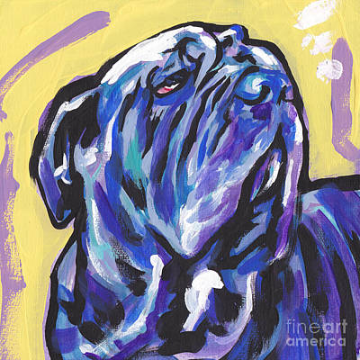 Mastiff Wall Art - Painting - The Neo Pet by Lea S