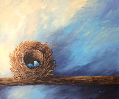 Painting - The Nest 2017 by Torrie Smiley