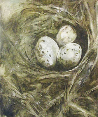 The Nest Art Print by Donna Thomas