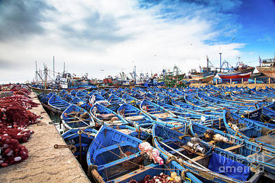 Photograph - The Nets Waiting To Be Loaded by Rene Triay Photography