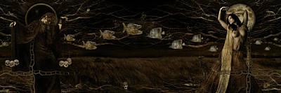 Grasshopper Digital Art - The Neverending Dance by Alexei Solha