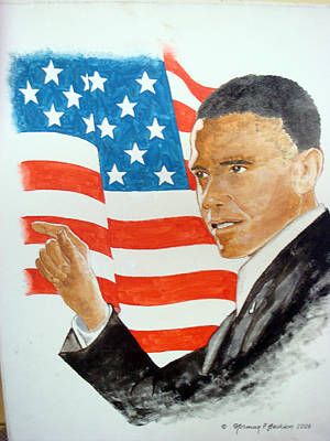 Painting - The New America by Norman F Jackson