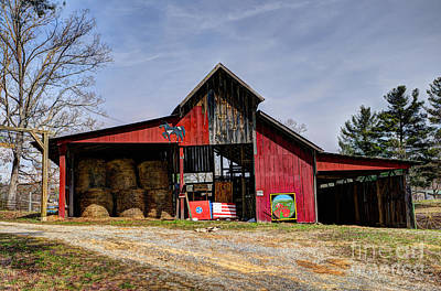 Photograph - The New Barn by Paul Mashburn
