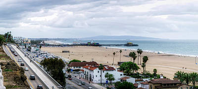 Rollercoaster Photograph - The New California Incline - Pamorama by Gene Parks