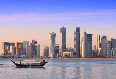 The New Doha Art Print