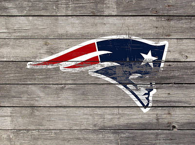 The New England Patriots 3c Print by Brian Reaves